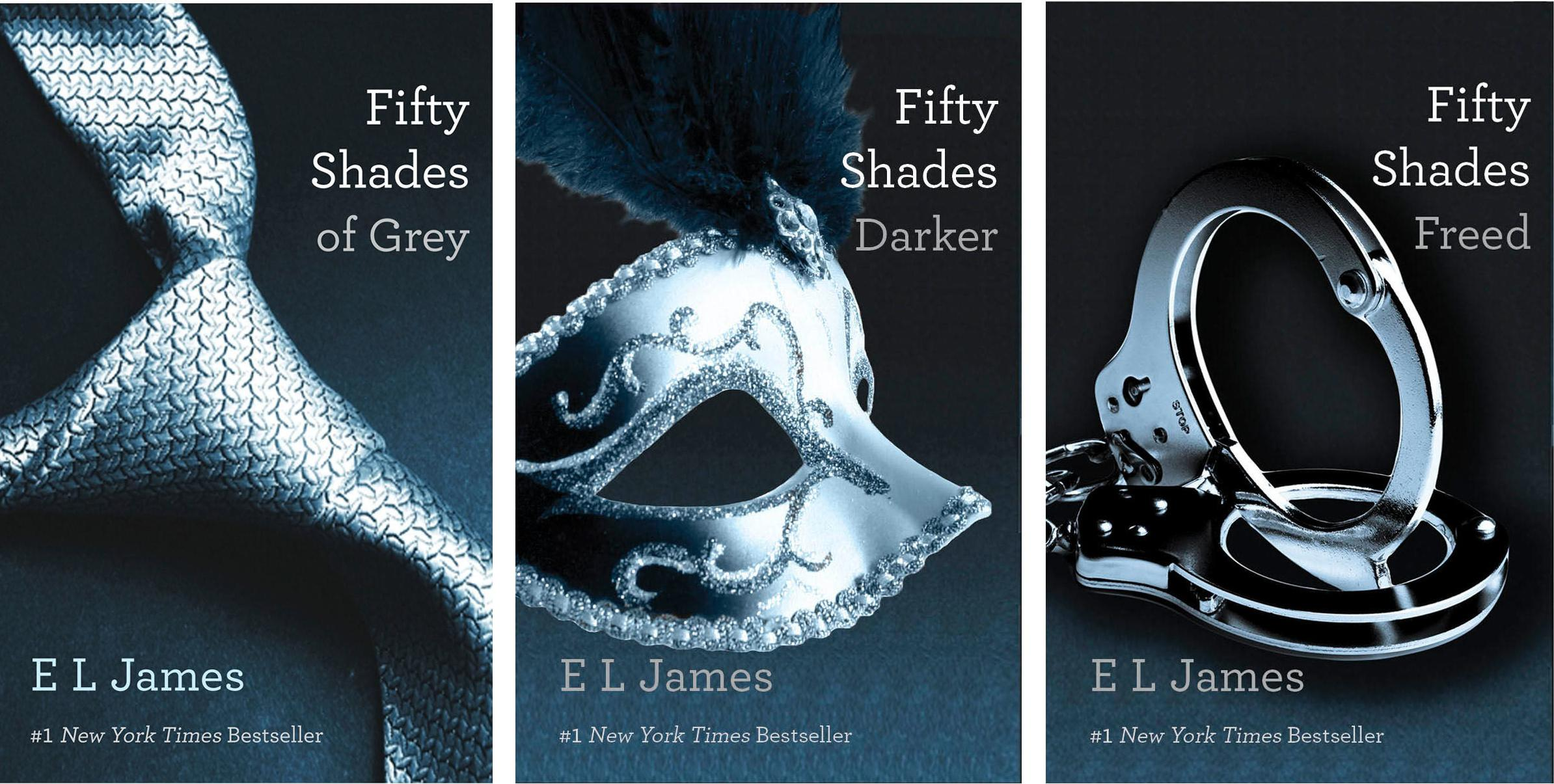 Fifty Shades Trilogy  Fifty Shades Of Grey    Fifty Shades